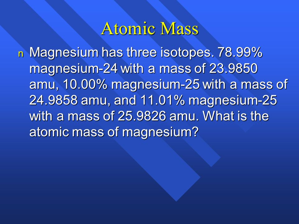 answer atom and mass Chemistry 51 answer key 1 review questions  isotopes of an atom have the same atomic number but different mass numbers  2.