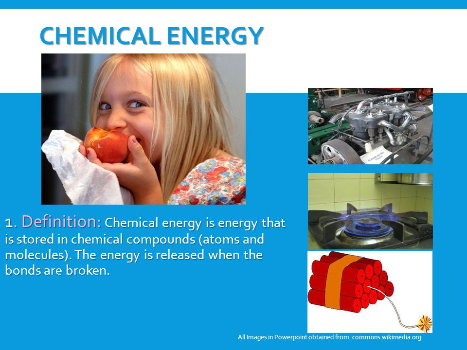 Student Discussion Why Are These Pictures Examples Of Chemical Energy Can