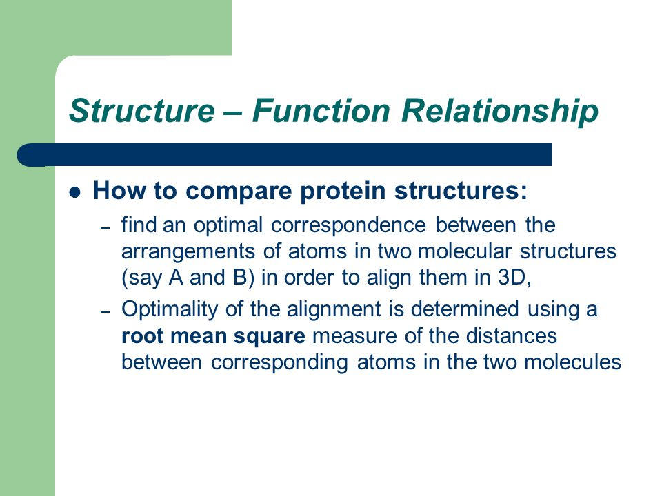 structure and function of proteins relationship problems