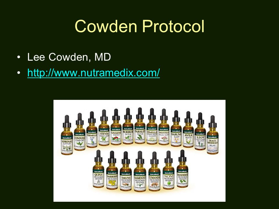 Dr cowden lyme protocol