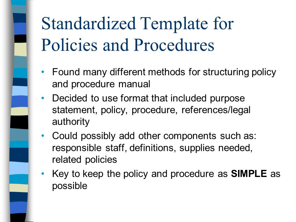 Tips For Policies And Procedures  Ppt Video Online Download