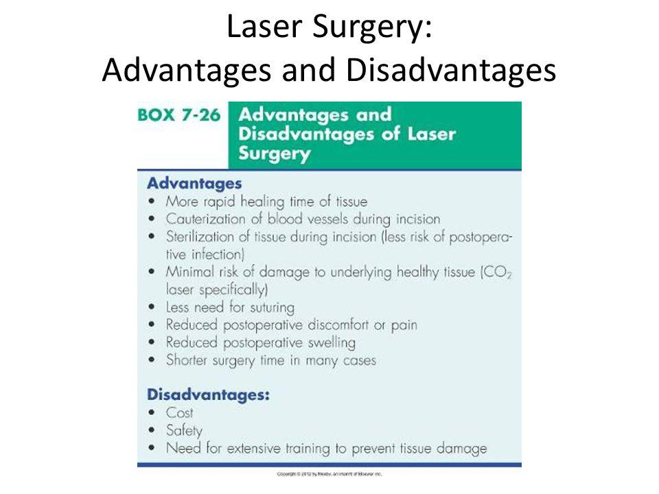 Laser Surgery: Advantages and Disadvantages