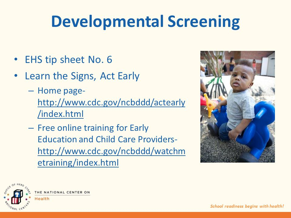Baby Steps : Learn the Signs, Act Early - ECU Libraries ...