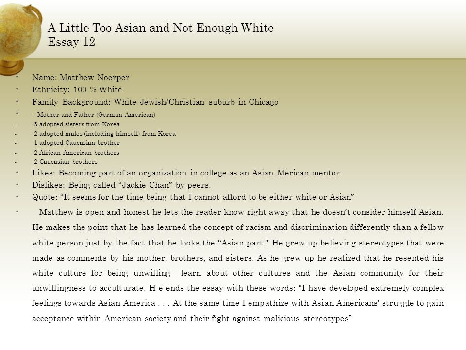 asian american x by arar han and john hsu ppt  a little too asian and not enough white essay 12