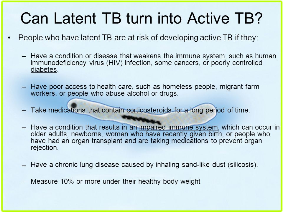 Can Latent TB turn into Active TB