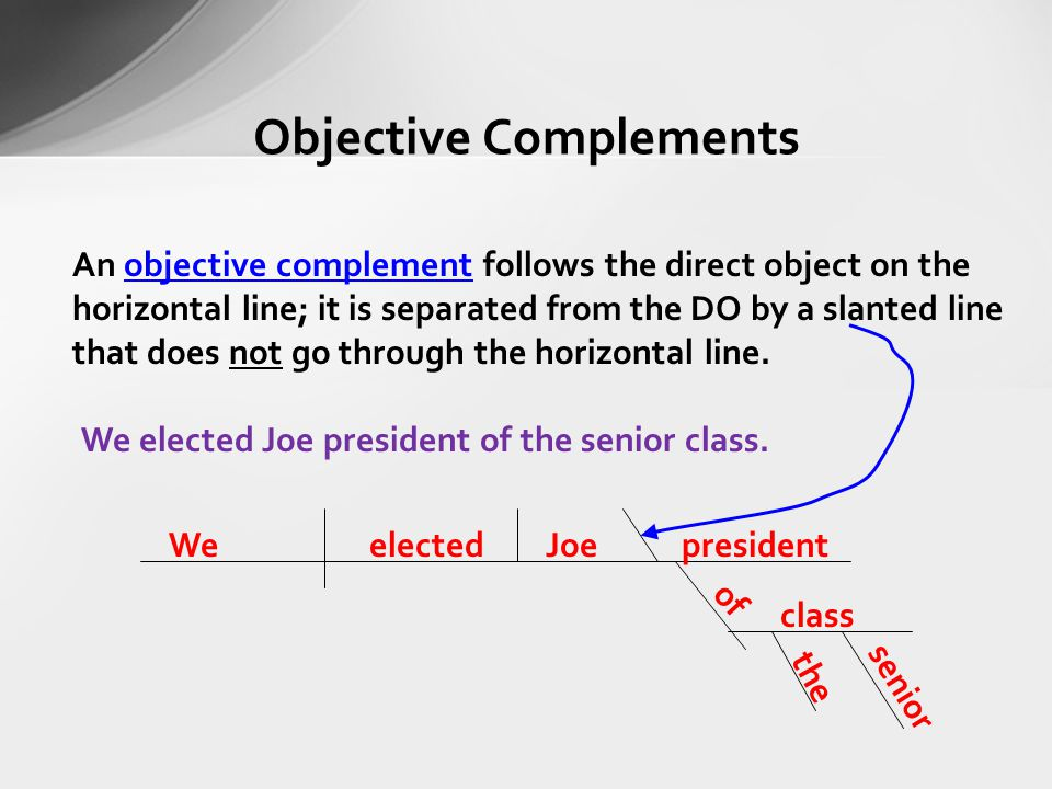 16. Indirect Objects and Objective Complements. Grammar ...
