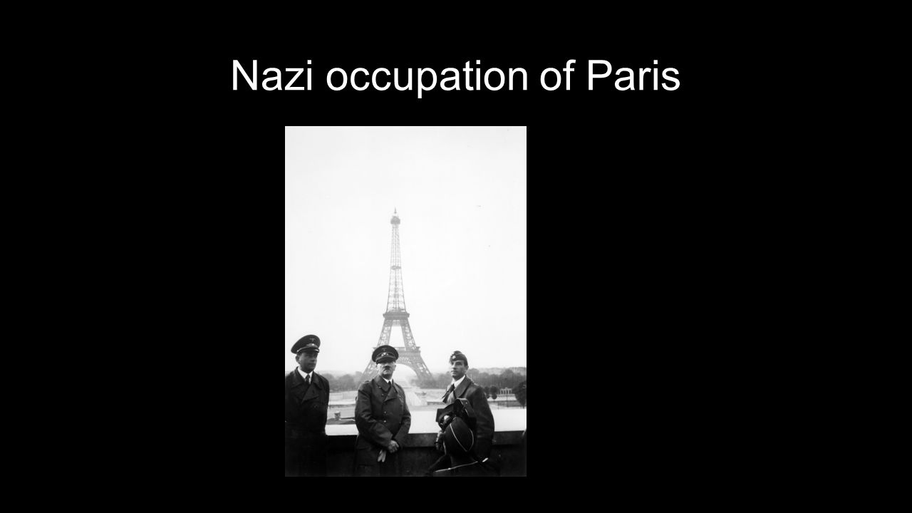 Nazi occupation of Paris