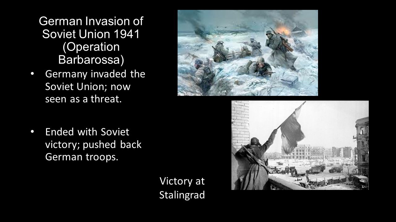German Invasion of Soviet Union 1941 (Operation Barbarossa)