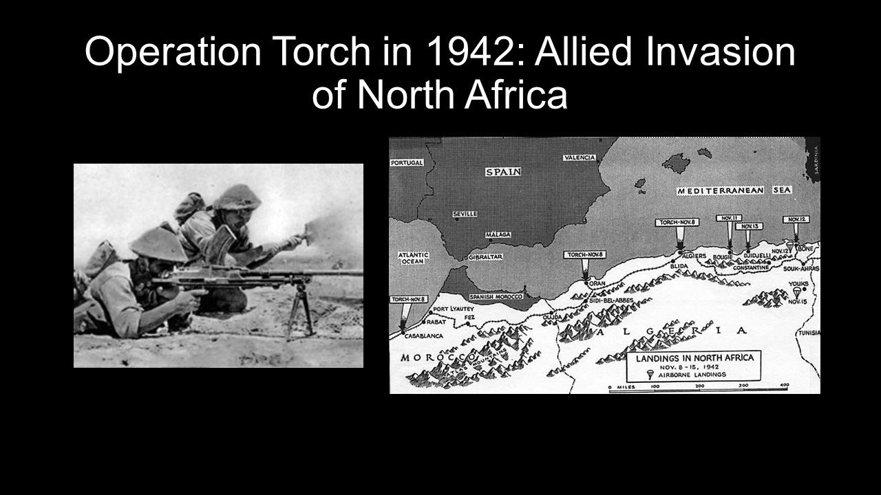 Operation Torch in 1942: Allied Invasion of North Africa