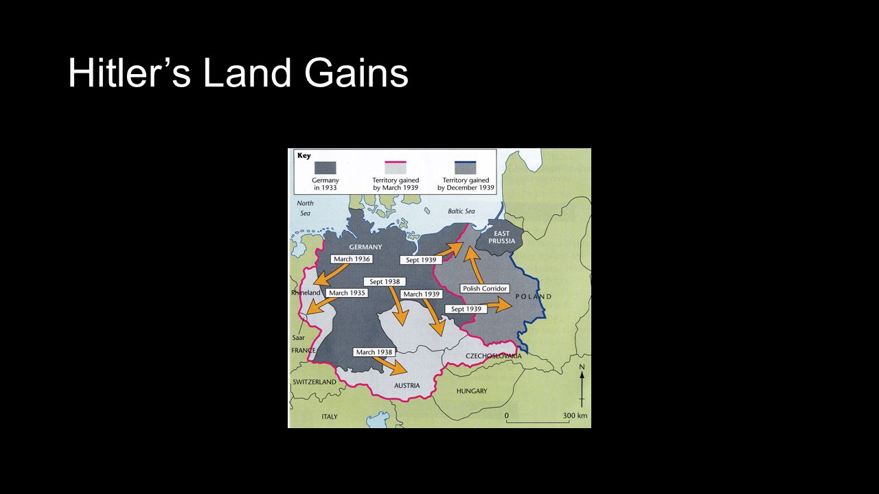 Hitler's Land Gains