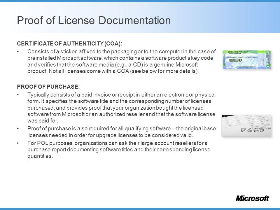 Software asset management ppt video online download for Software license certificate template