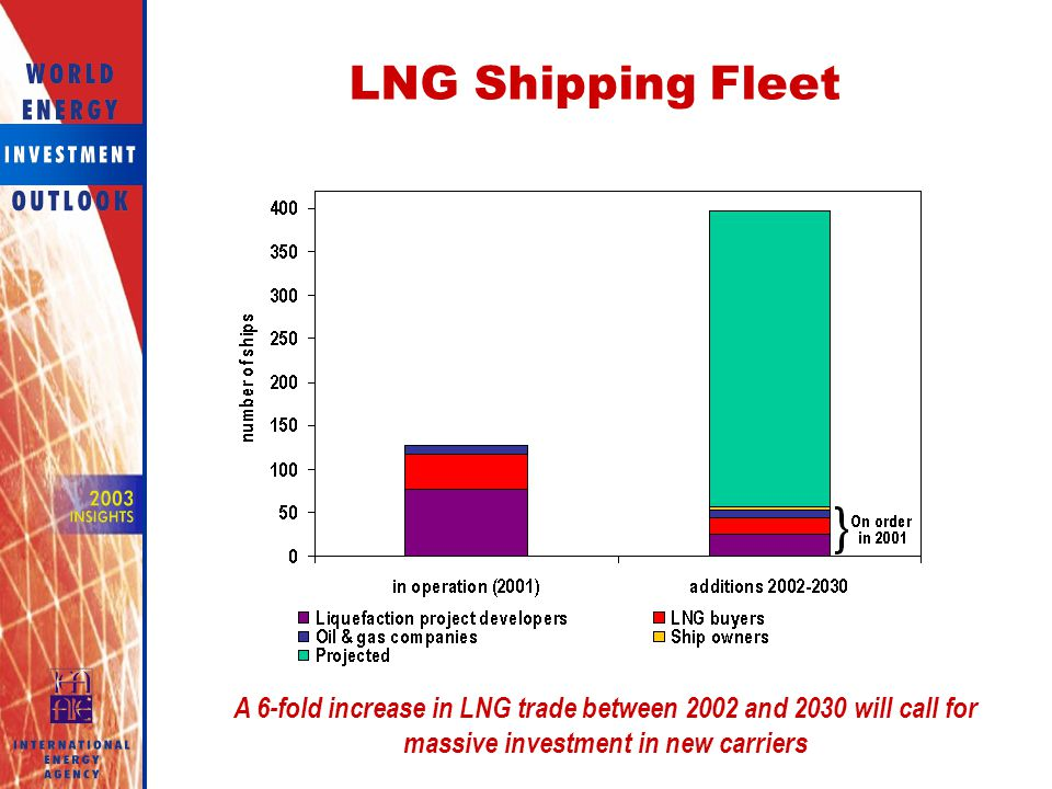 LNG Shipping Fleet