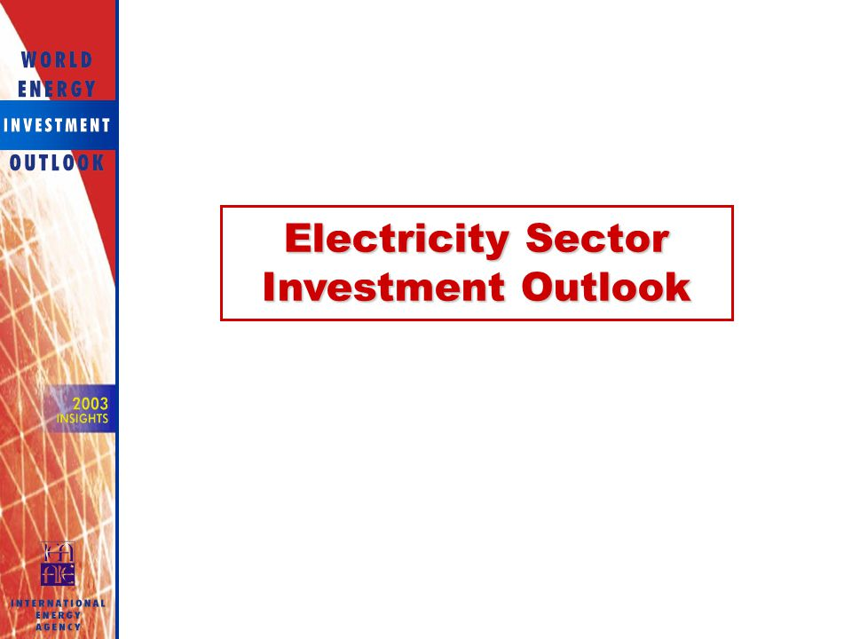 Electricity Sector Investment Outlook