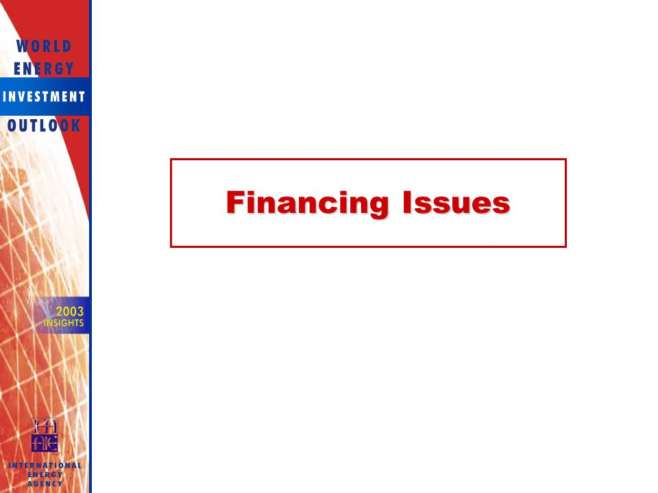 Financing Issues