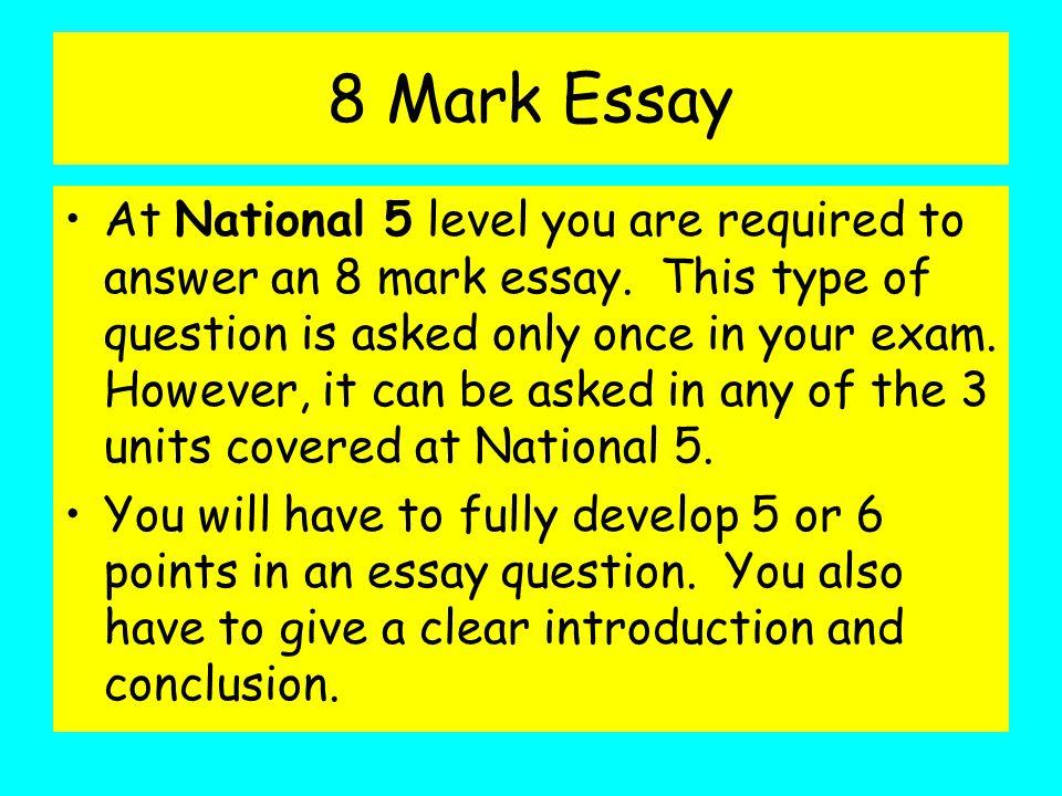 essay writing skills nat ppt 8 mark essay