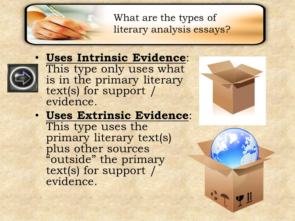 types of analysis essays This resource covers how to write a rhetorical analysis essay of primarily visual texts with a focus on demonstrating the author's understanding of the rhetorical.