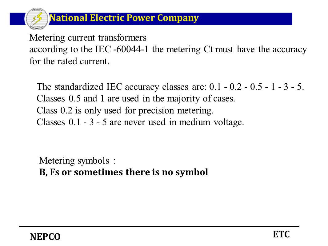 Instrument transformers ppt download national electric power company biocorpaavc