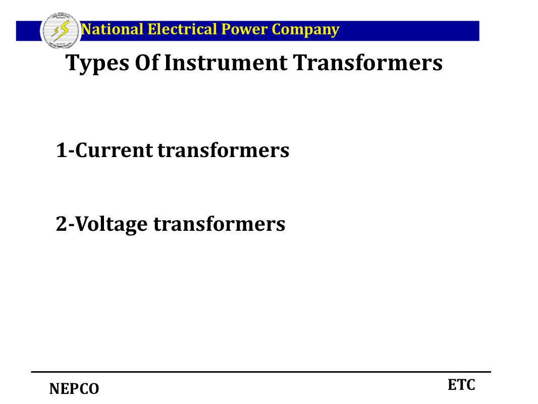 Instrument Current Electricity : Instrument transformers ppt download