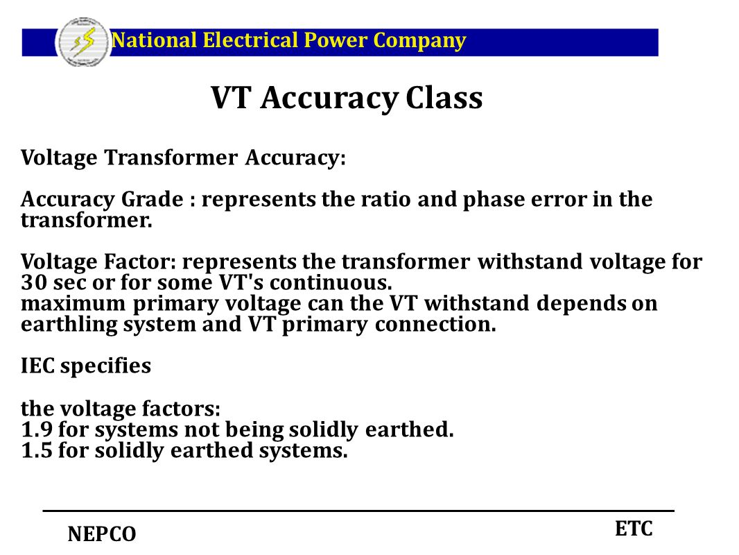 Instrument transformers ppt download vt accuracy class voltage transformer accuracy biocorpaavc