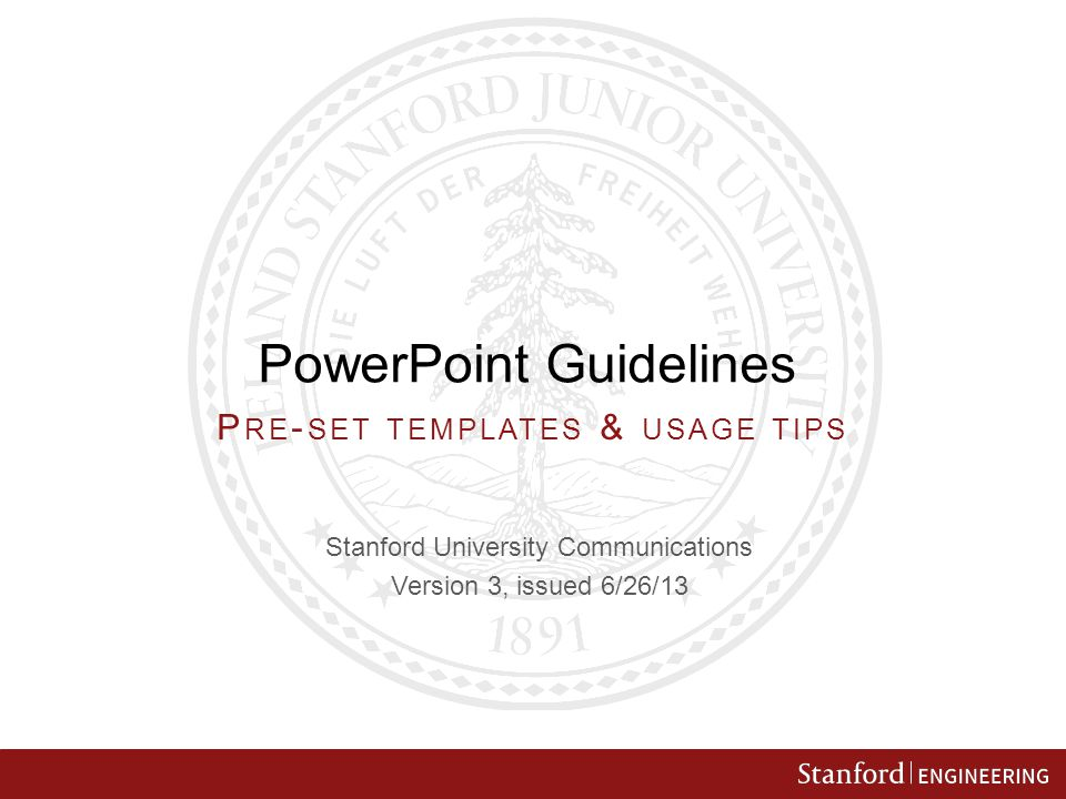 Powerpoint Guidelines Ppt Video Online Download