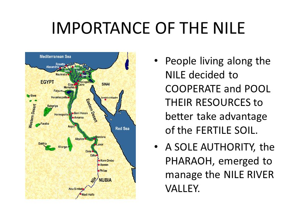 An introduction to the importance of the nile river in egypt