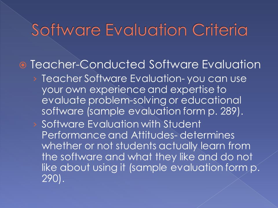 software evaluation criteria This list of evaluation criteria for data governance software tools will help you in  your technology assessment sunil soares, industry thought.