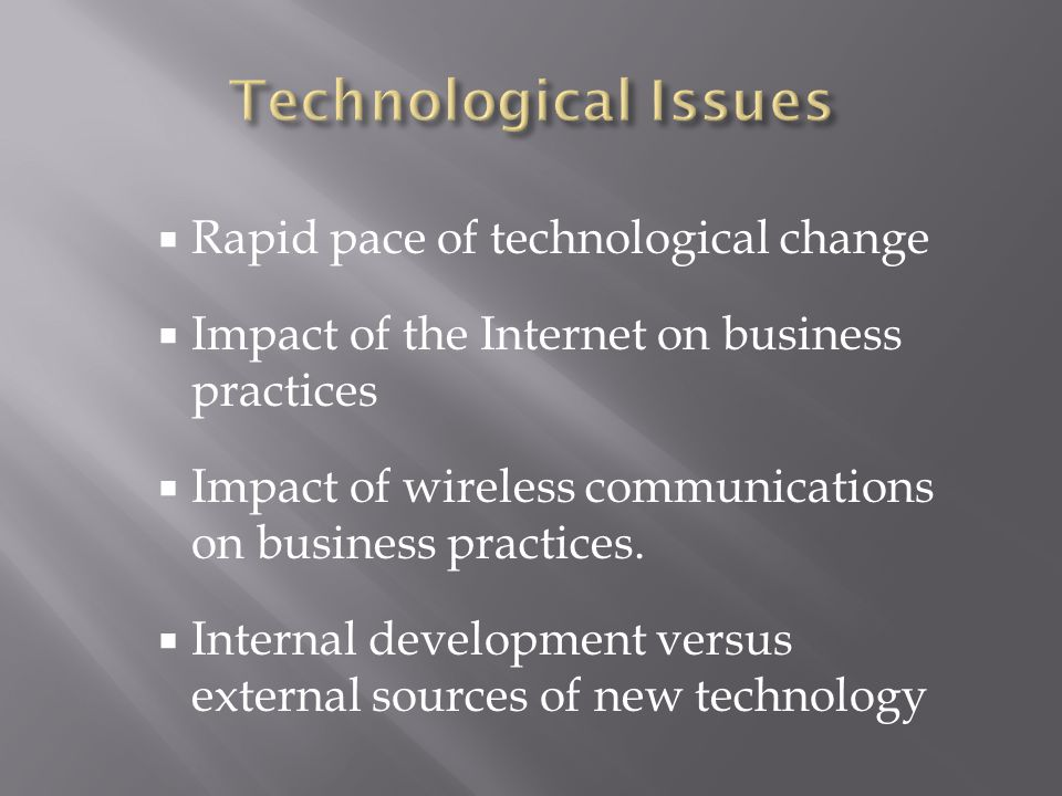 the impact of technological changes on the development of wireless technology This also suggests intense mobile and wireless technological impacts on   analysis on a firm's business management development and future strategies   technology and consumers: a critical evaluation is how adopting changes to the.