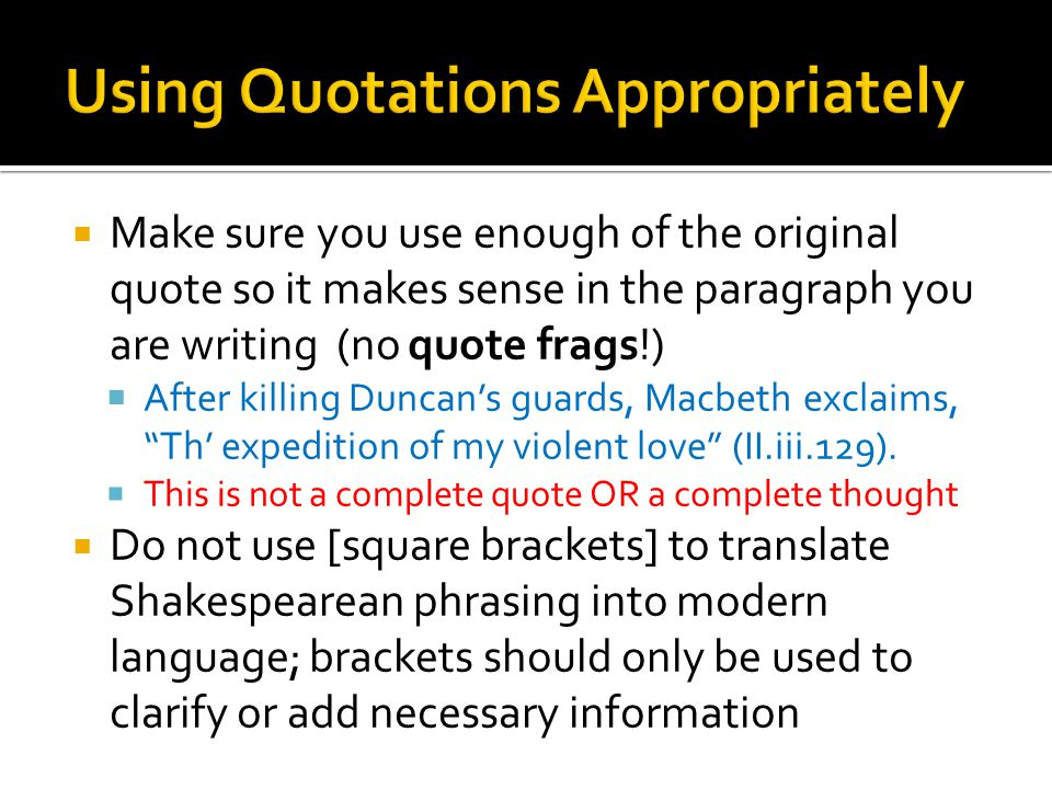 how to add context into a quote