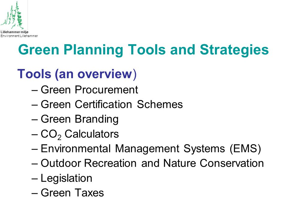 Green Purchasing and Procurement Strategies