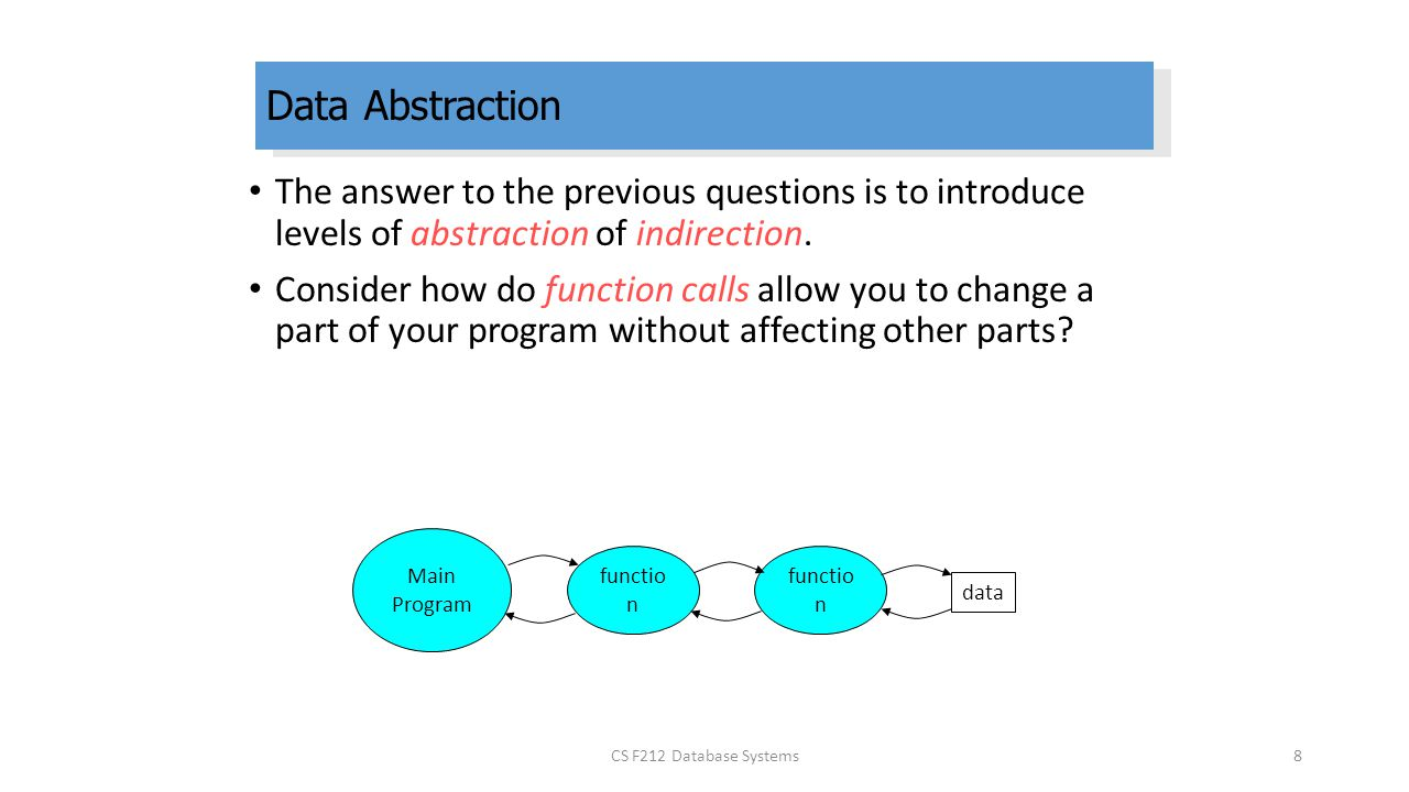 levels of data abstraction pdf