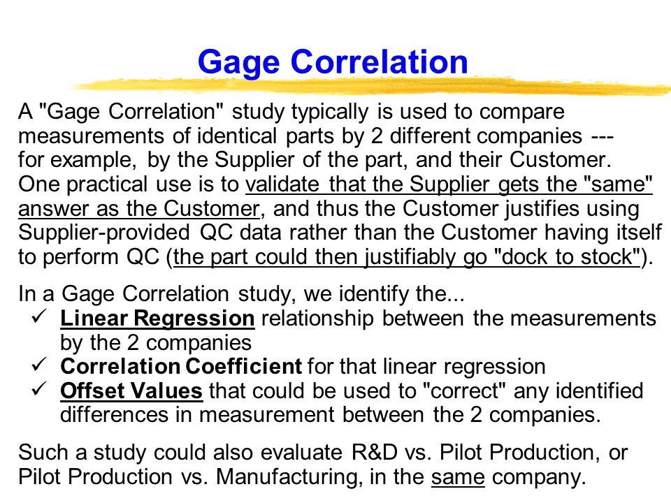 Gage Studies for Continuous Data - Minitab
