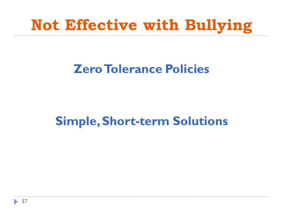 "bullying and effective bullying prevention Throughout the bullying prevention world, the phrase, ""i have the solution to  bullying"" is all too common as attention to bullying has grown,."