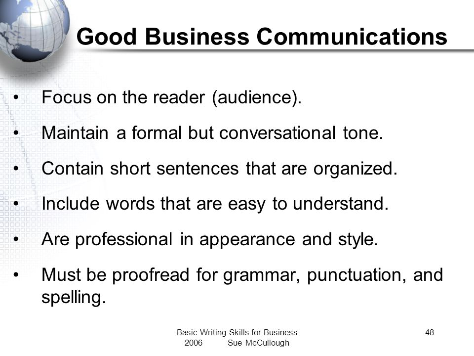 Good Business Communications