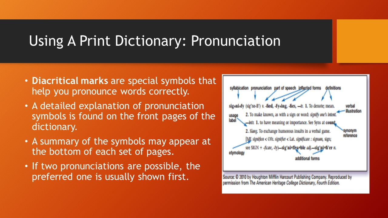 Business english lesson 001 laying a foundation ppt download using a print dictionary pronunciation buycottarizona Images