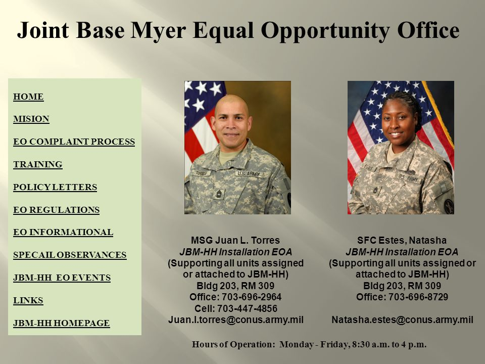 Equal Opportunity in the Army