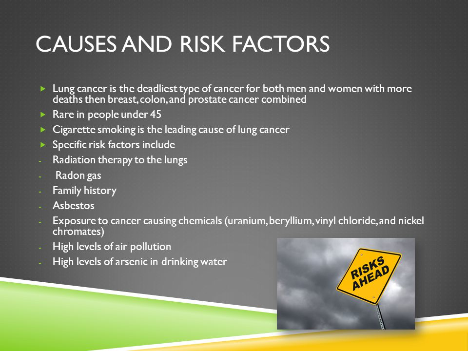 Causes and risk factors