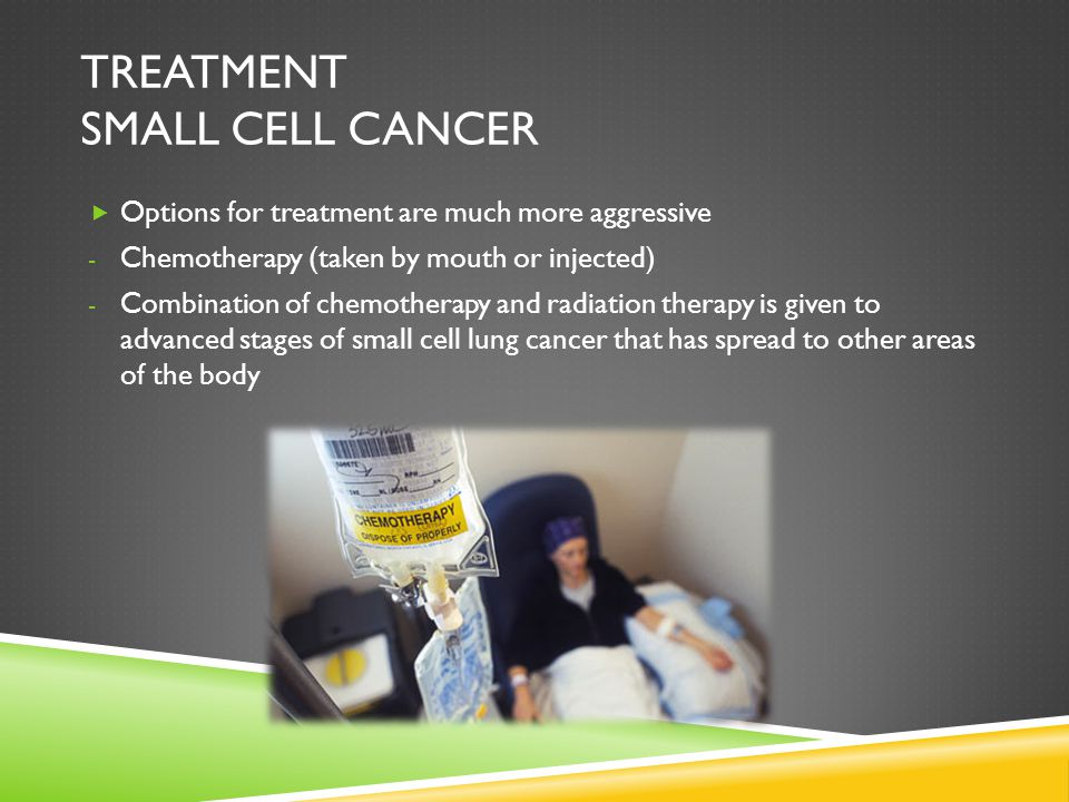 Treatment small cell cancer