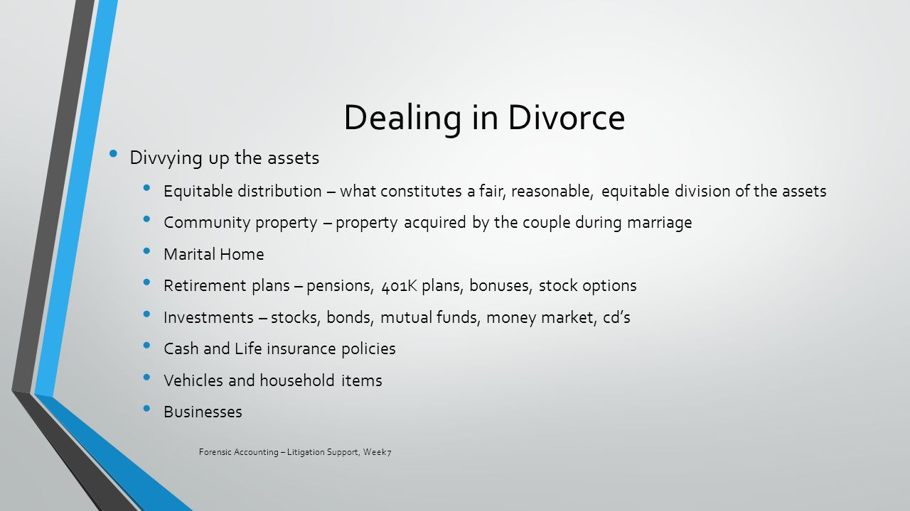 Are unvested stock options marital property