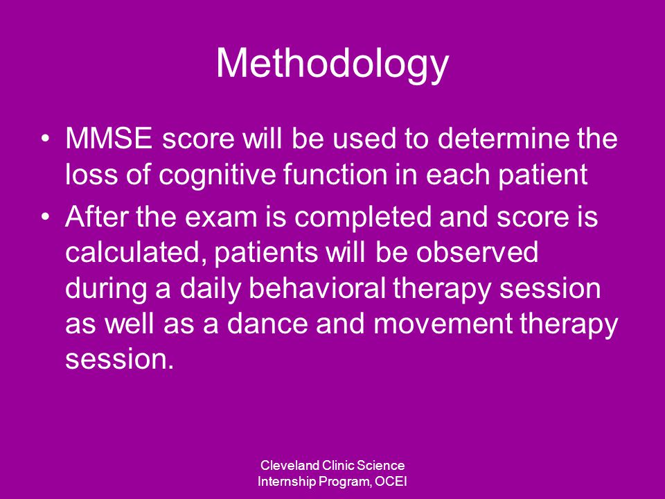 Determining cognitive functioning of individual
