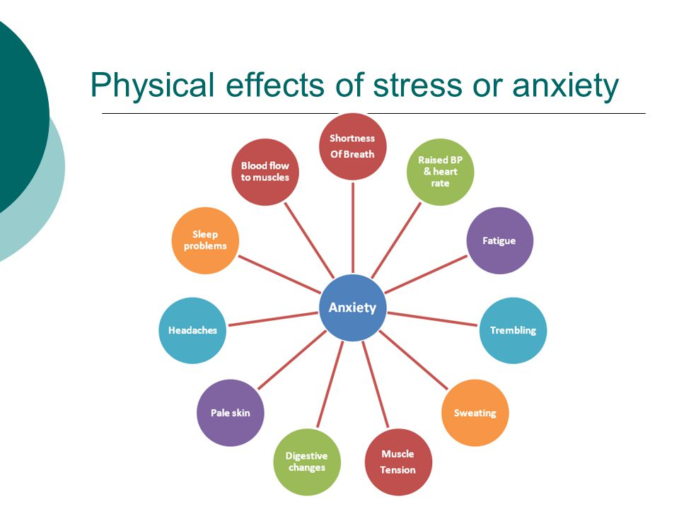 The Effects of Stress on Your Body