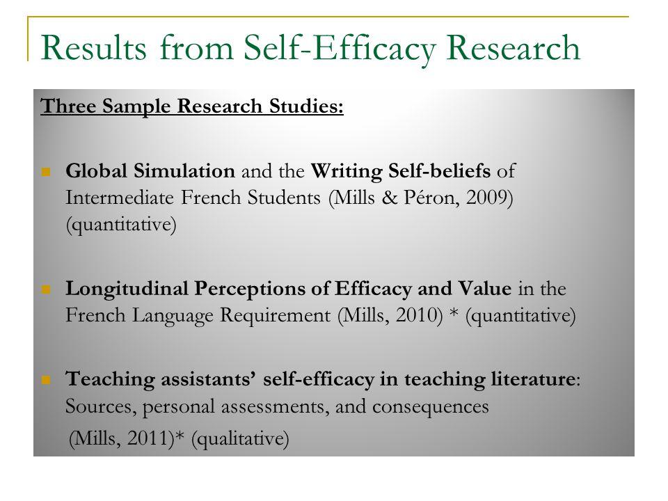 self efficacy essay