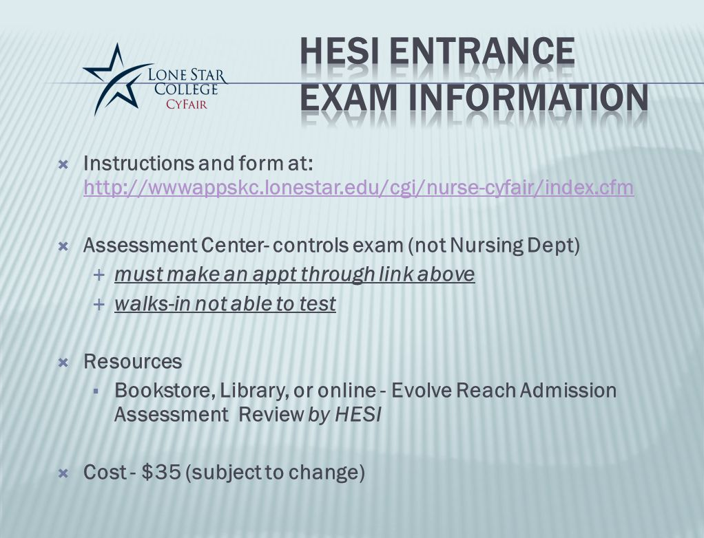 Hesi exam | College paper Example - July 2019 - 1239 words