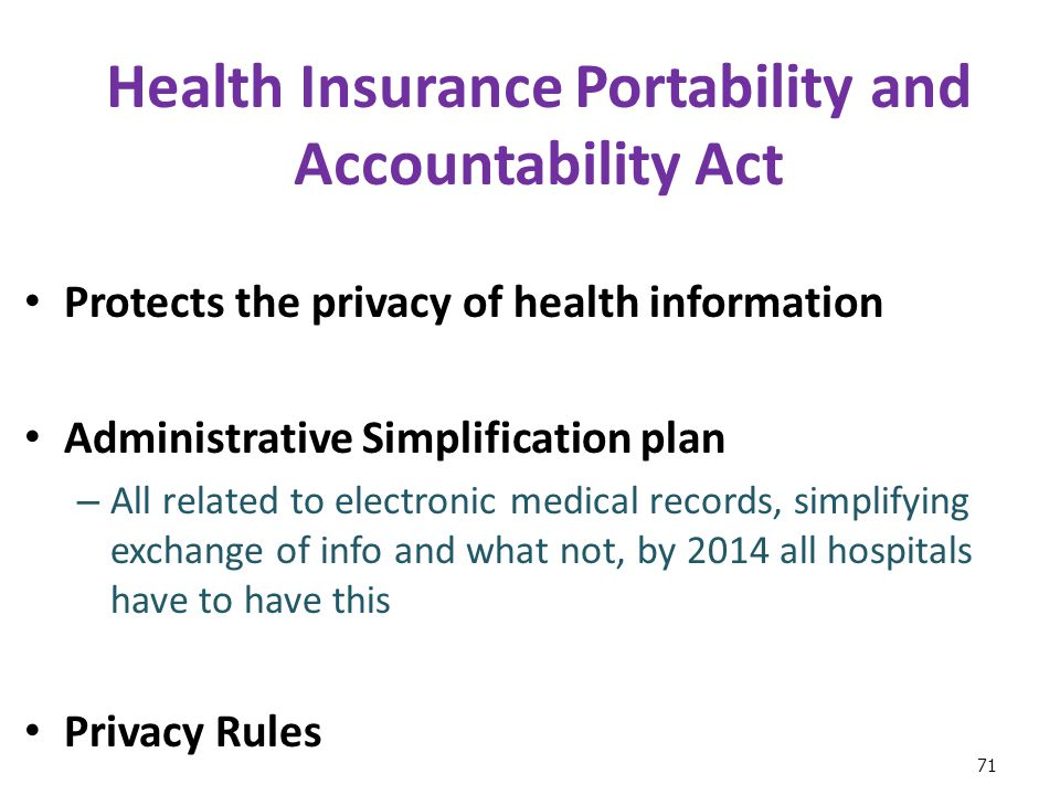 the health insurance portability and accountability act essay Dma is providing general information about the health insurance portability and  accountability act rules what is hipaa marketing and fundraising under.