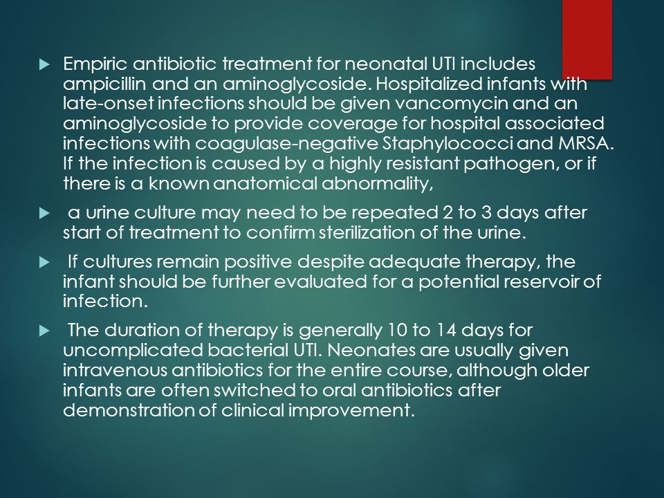 Duration Of Treatment For Uncomplicated Uti