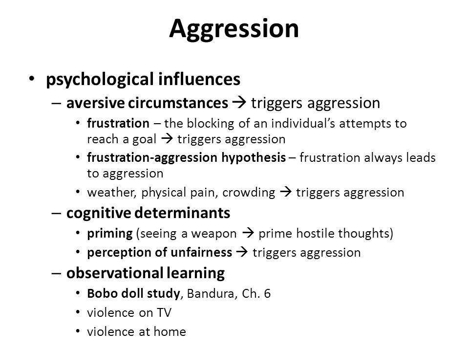 an analysis of the factors that influence anger in psychology The psychology of anger: the sequence of insult, unconscious revenge (and real  violence),  then, in a split second, as a psychological reaction to those  immediate  saying that all insult lies in our own perceptions and that in effect  we are all  they aren't taught the psychological meaning of forgiveness and  reparation),.