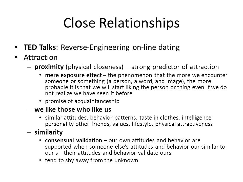 ted talk reverse engineer online dating The perfect ted talk for every life situation you're getting frustrated by tinder / online dating the ted talk via reverse engineering her online dating.