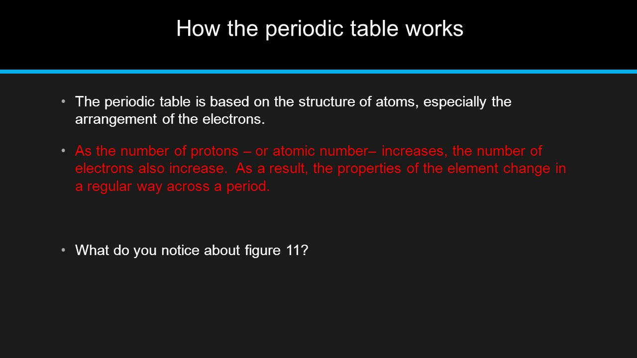 Across a period in the periodic table ionization energy generally a period on the periodic table image collections periodic table a period is a horizontal row gamestrikefo Image collections