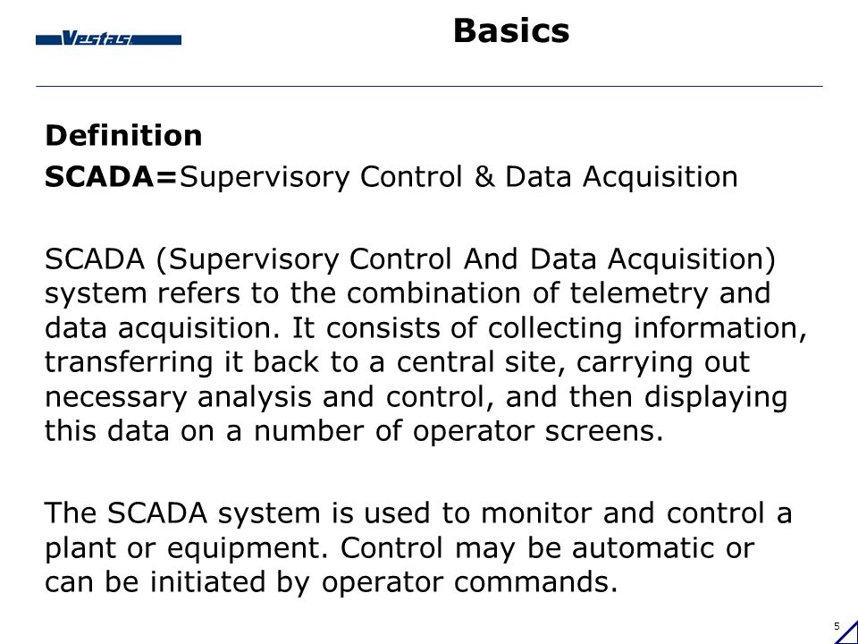 Data Acquisition And Control : Introduction to wind parks scada systems ppt video