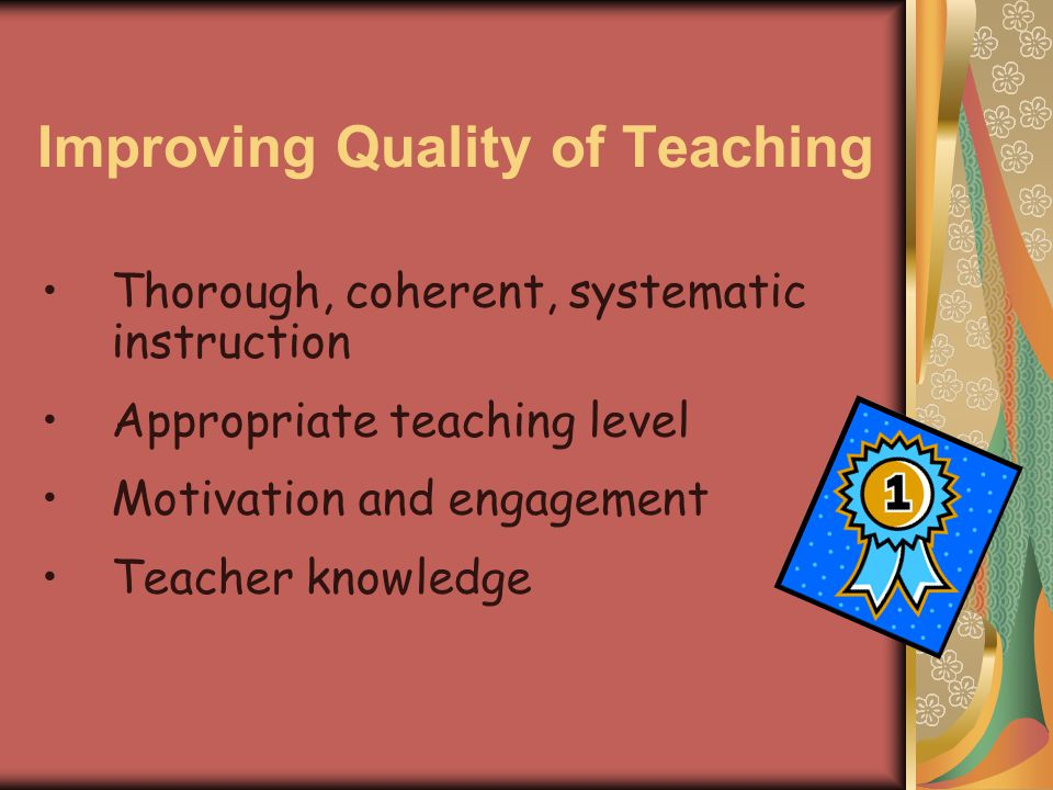 Teaching Reading Comprehension in the Middle School - ppt ... Repetition Meaning