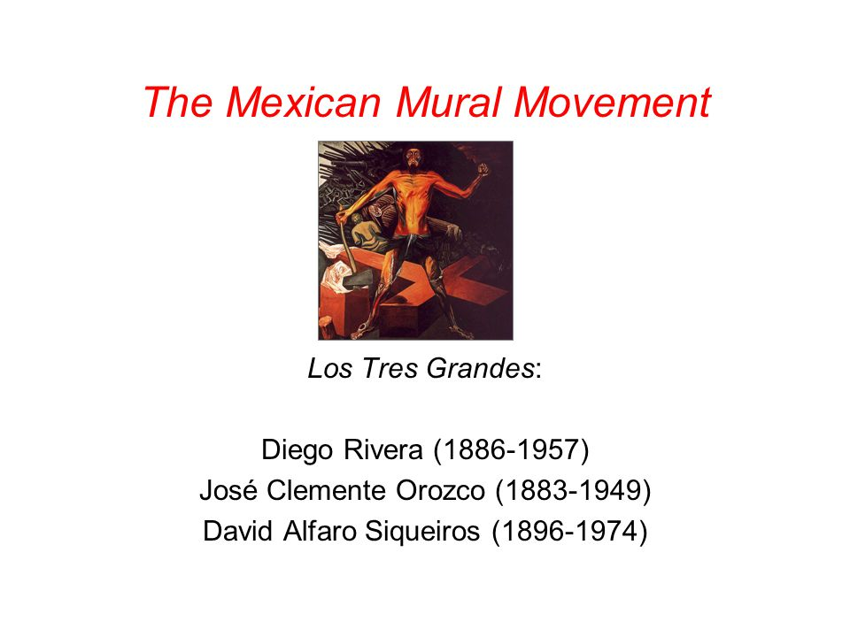 Mexican Influence on Chicano Muralist
